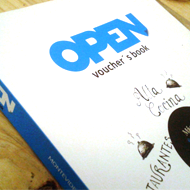 OPEN voucher's book
